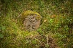 kamień milowy stary Zdjęcie Stock