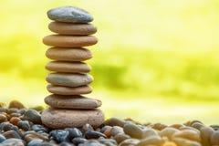 Kamień równowaga Fotografia Royalty Free