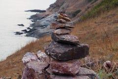 Kamień równowaga Zdjęcia Stock