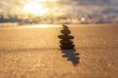 Kamień równowaga Zdjęcie Royalty Free