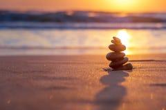 Kamień równowaga Fotografia Stock