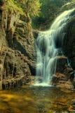 KamieÅczyk Wasserfälle Stockfoto