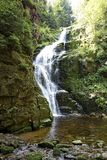 Kamienczyk Waterfall in The Karkonosze Mountains Stock Photography