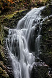 Kamienczyk Waterfall in Poland Royalty Free Stock Photography