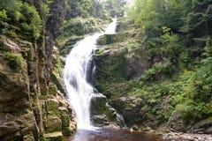 Kamienczyk Waterfall. In Szklarska Poreba, Poland Royalty Free Stock Photos