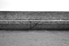 Schody morze Zdjęcia Stock