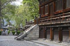 Kamieni kroki w świątyni Obraz Royalty Free