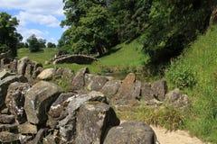 Kamieni mosty, North Yorkshire Obraz Royalty Free