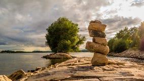 Kamieni wierza Fotografia Royalty Free