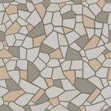 Kamienia barwiony tło Bezszwowy mozaika maswerk ilustracja wektor