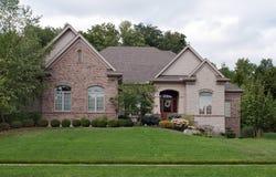 Kamienia i cegły dom Obrazy Royalty Free