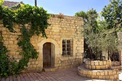 Kamienia stary dom Obrazy Royalty Free