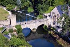 Kamienia stary most Obrazy Royalty Free