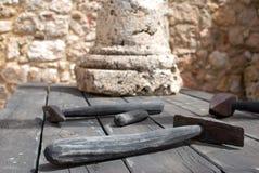 kamieniarstw naczynia Obraz Royalty Free