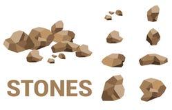 1 kamienie Obrazy Stock