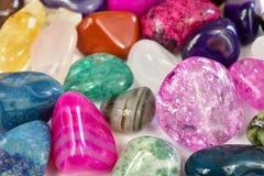 Kamienie, barwioni kryszta?y obrazy royalty free