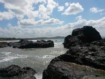 Kamienie i chmury Obraz Royalty Free