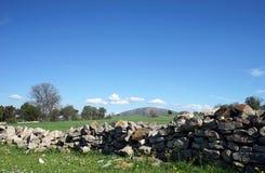 Kamienie i góra Zdjęcia Stock