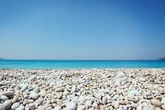 Kamienie i morze Zdjęcia Royalty Free