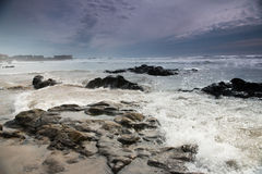 Kamienie i ocean fotografia royalty free