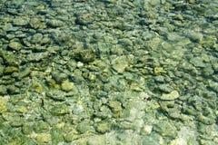 Kamienie i woda Zdjęcie Stock