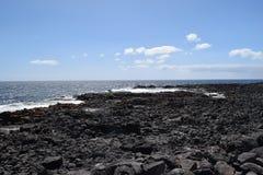 Kamienie i wybrzeże Fuerteventura, wyspa kanaryjska Fotografia Royalty Free