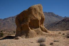 Kamienie kształtują teren blisko Tafraoute, Maroko, Afryka Fotografia Royalty Free