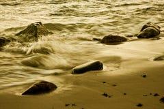 kamienie morskie Zdjęcie Royalty Free