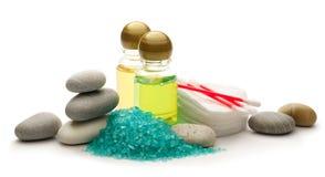 Kamienie, morze sól i szampon, Obraz Royalty Free