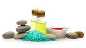 Kamienie, morze sól i szampon, Fotografia Royalty Free