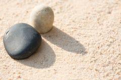 Kamienie na piasku Obraz Royalty Free