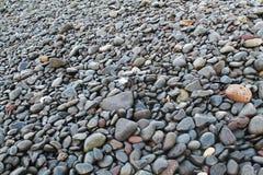 Kamienie na plaży Zdjęcia Royalty Free