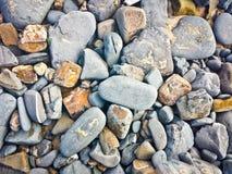 Kamienie na plaży, Portugalia obraz stock