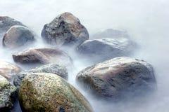kamienie oceanu zdjęcie stock