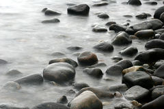 kamienie oceanu fotografia royalty free