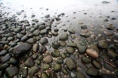kamienie oceanu Zdjęcie Royalty Free
