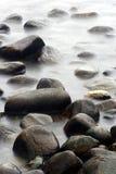 kamienie oceanu Obrazy Stock