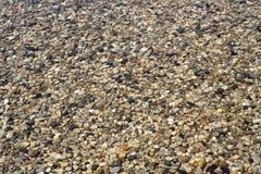 Kamienie pod jasną wodą Zdjęcie Royalty Free