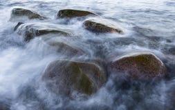Kamienie przy nadmorski Obrazy Royalty Free
