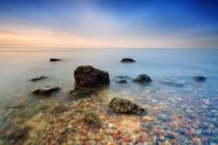 Kamienie w Bałtyckim Fotografia Royalty Free