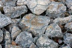 Kamienie w drucie Zdjęcia Stock