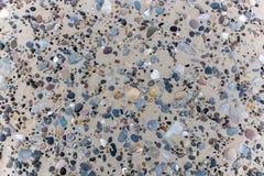 Kamienie w piasku na duńskiej plaży Fotografia Royalty Free