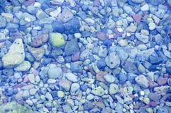 Kamienie w rzece Obrazy Royalty Free