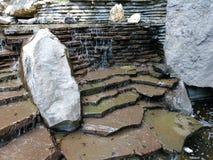 Kamienie w siklawie zdjęcie royalty free