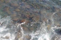 Kamienie w wodzie Obraz Stock