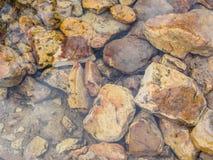 Kamienie w zatoczce Zdjęcie Stock