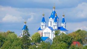 Kamieniec Podolski - eine alte mittelalterliche Stadt voll von Monumenten - a Lizenzfreie Stockfotos