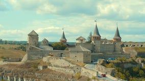 Kamieniec Podolski - eine alte mittelalterliche Stadt voll von Monumenten - Ca Stockfotos