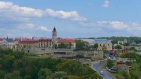 Kamieniec Podolski - eine alte mittelalterliche Stadt voll von Monumenten - Ca Stockbild
