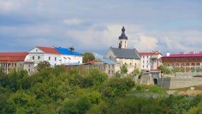 Kamieniec Podolski - eine alte mittelalterliche Stadt voll von Monumenten - Ca Lizenzfreie Stockbilder